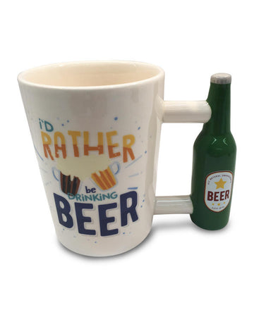 Drinking Mug - Beer Handle