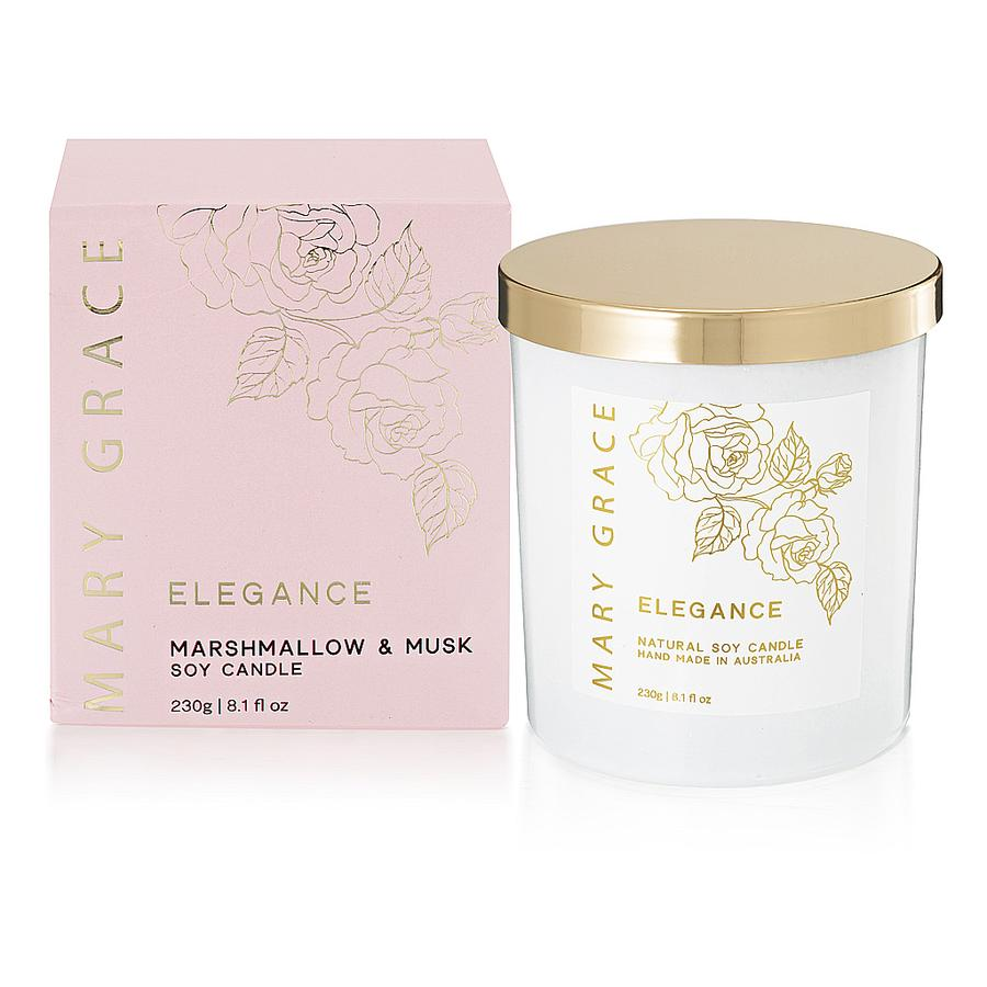 Marshmallow and Musk Candle