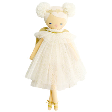 Ava Angel Doll - Ivory Gold 48cm