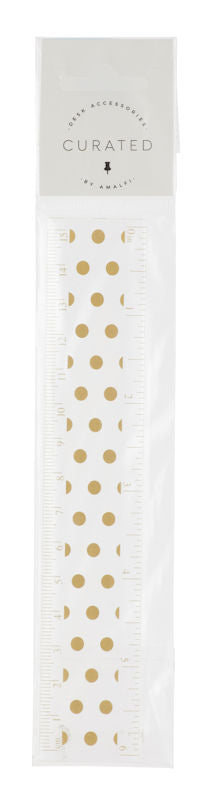 Curated Ruler 15cm