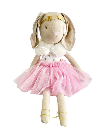 Blair Bunny In Capelet - Pink 40cm