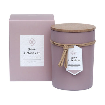 Rose & Vetiver Candle