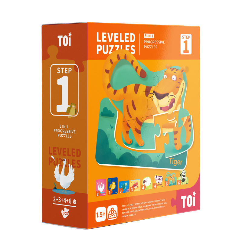 Leveled Puzzle - Step 1 (Animal)