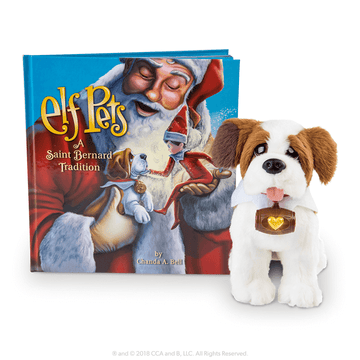 Elf Pets®: A Saint Bernard Tradition