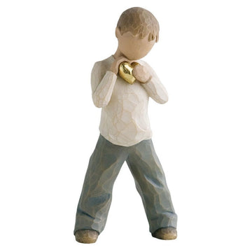 Heart of Gold Figurine