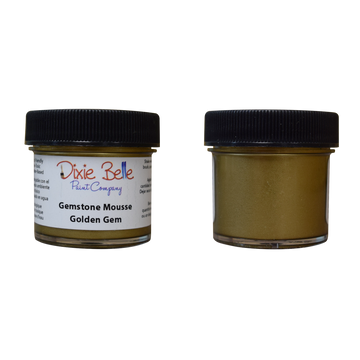 Golden Gem Gemstone Mousse