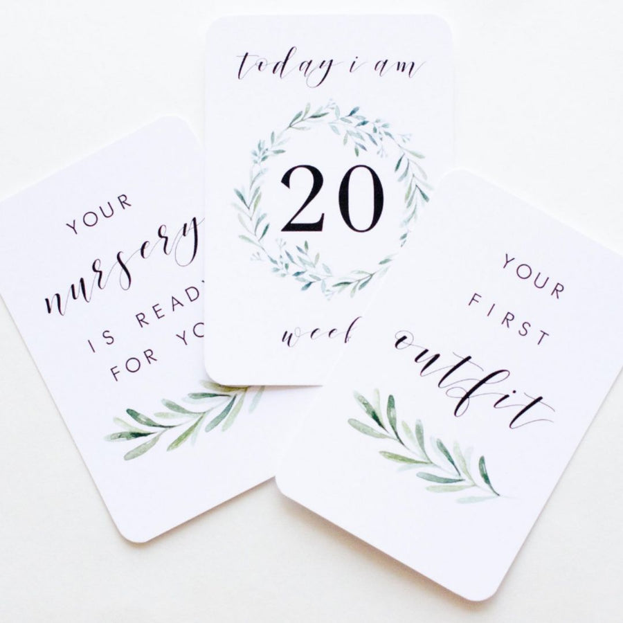 Lush Collection Milestone Cards S/30