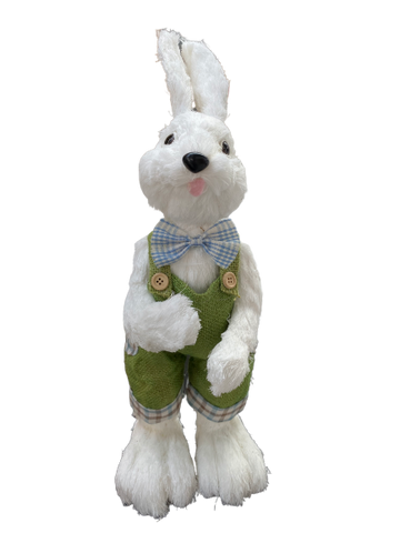 Large Dressed Up Bunny Boy 45cm
