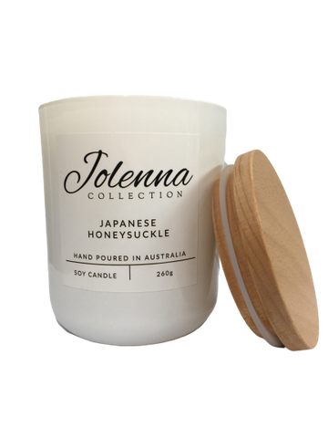 Jolenna Collection Candle Japanese Honey Suckle