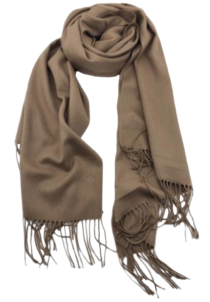 Cashmere Scarf - Brown
