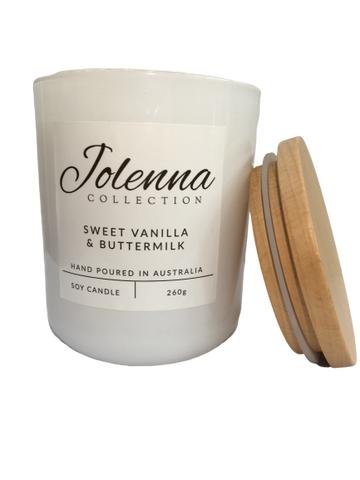 Jolenna Collection Candle Sweet Vanilla & Buttermilk
