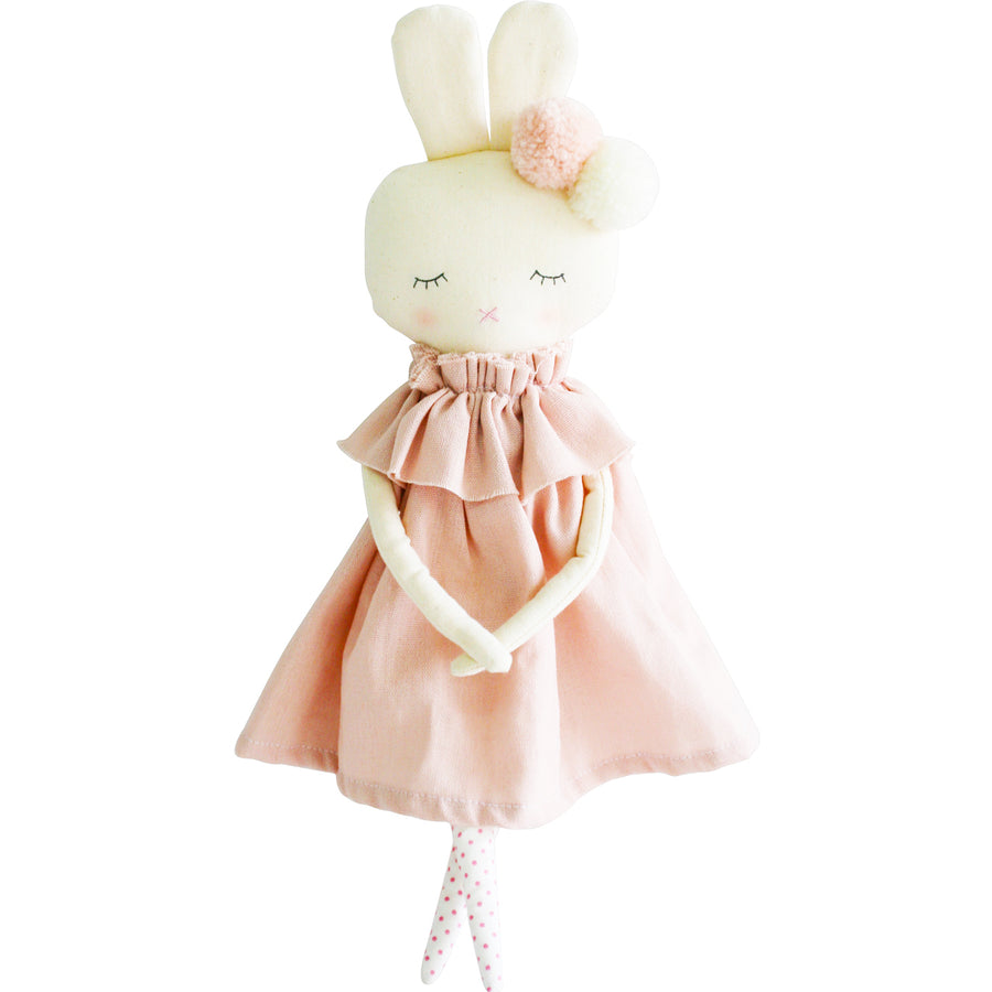Isabelle Bunny - Pink Linen 40cm