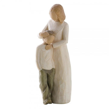 Mother & Son Figurine