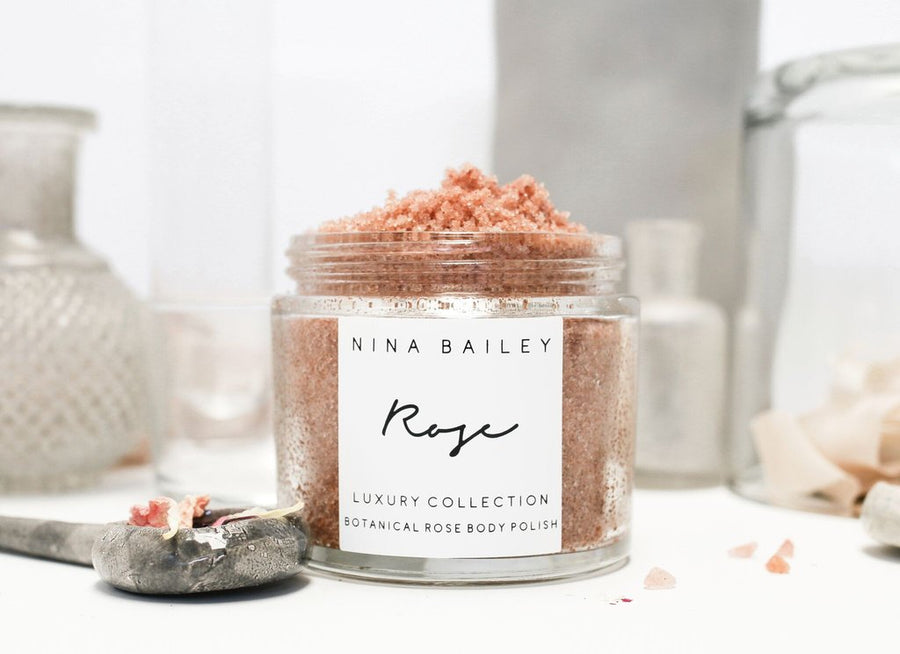 Rose Botanical Body Polish