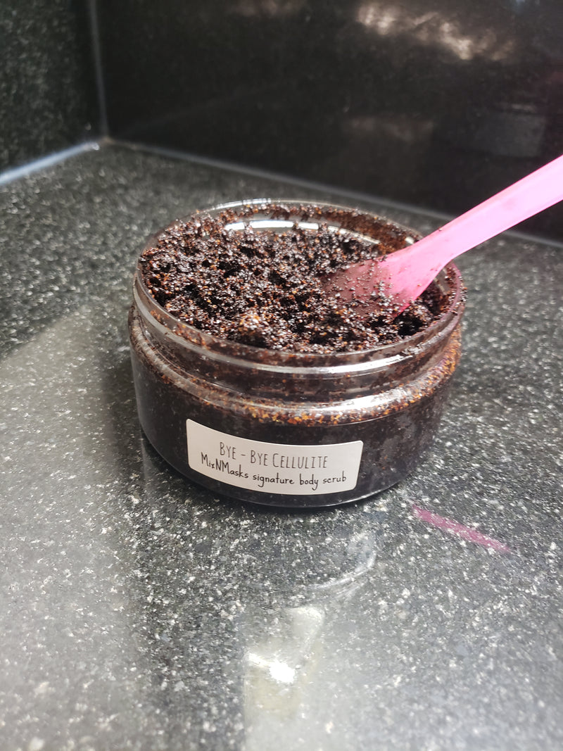 Bye-Bye Cellulite Coffee Body Scrub