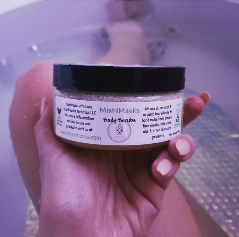 Customize a Body Scrub!