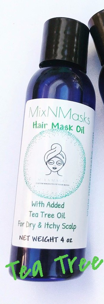 Hair Oil Mask with added Tea Tree Oil- Dry & Itchy Scalp