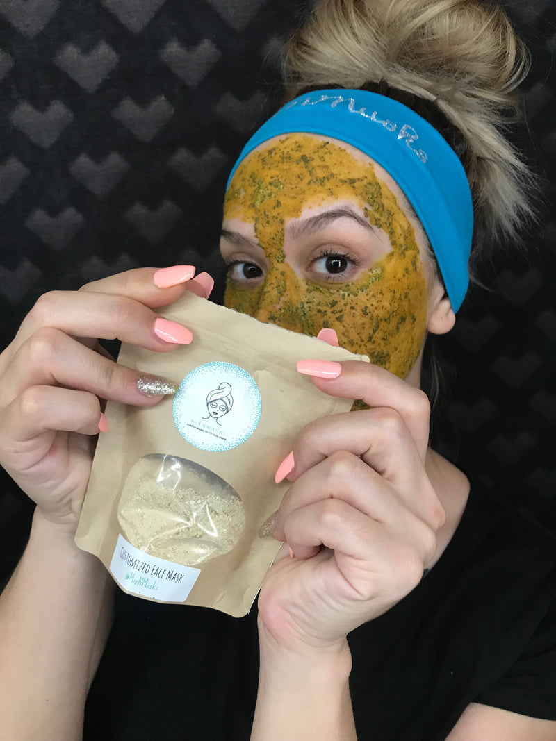 Customize a face mask for Dry Skin!