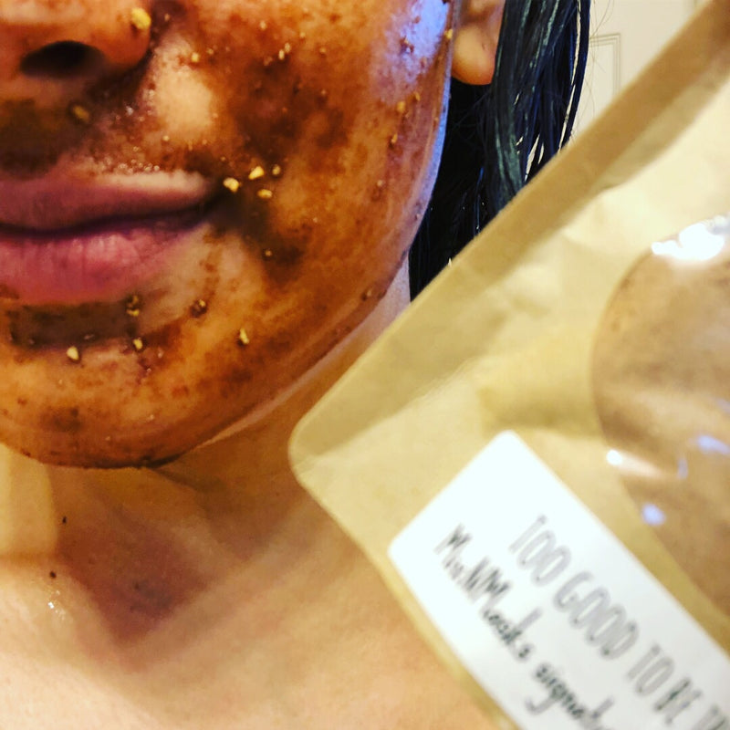 Too Good To Be True- Signature Face Mask