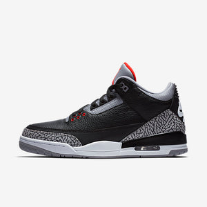 "Air Jordan 3 ""Black Cement"" - Love For The Games"