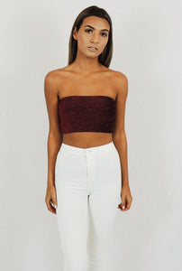 Gia Sparkle Crop Top
