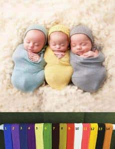 2018 New Arrivals Summer Cotton Stretch Wrap Newborn Photography Prop - Shop Backdrop