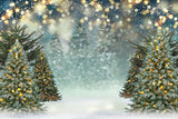 Christmas Tree Backdrop For Holiday G-1250