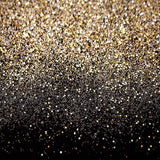 Gold Glitter Christmas & Birthday Photo Backdrop