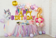 Happy Birthday For Two Year Old Backdrop  G-1157