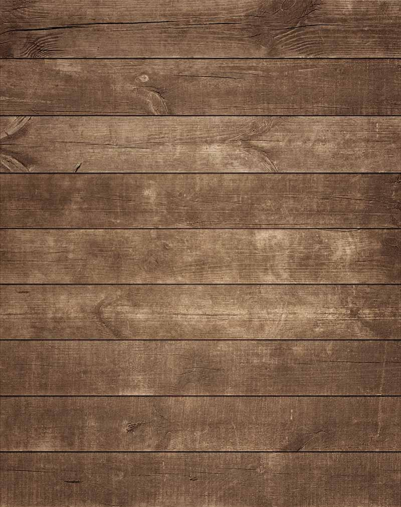 Khaki Wooden Floor Backdrop K-0032