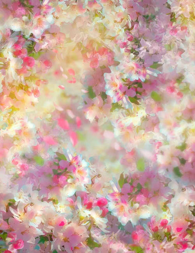 Abstract Cherry Flower Backdrop For Wedding Photography - Shop Backdrop