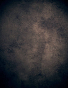 Abstract Coconut Brown Center Lighter Edges Dark Backdrop For Photography - Shop Backdrop