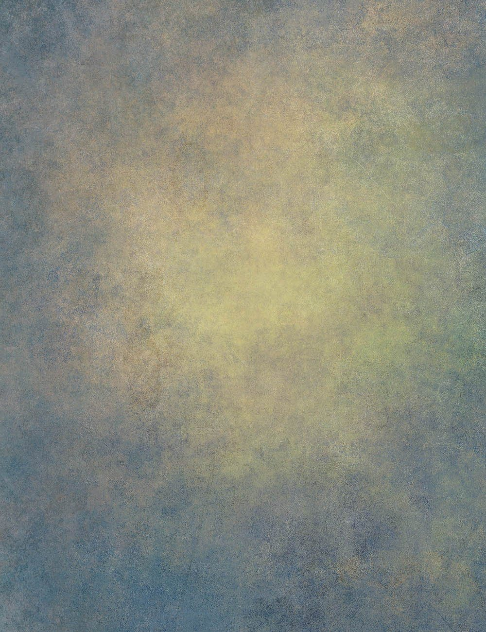 Abstract Deep Blue With Yellow In Center Printed Old  Master Backdrop - Shop Backdrop