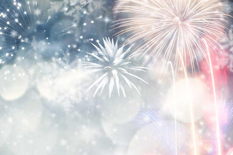 Abstract Fireworks For Holiday Photography Backdrop J-0286 - Shop Backdrop