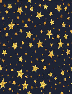 Abstract Gold Stars For Baby Photography Backdrop - Shop Backdrop
