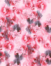 Abstract Hand Painted Watercolor Pink Red Flower Photography Backdrop J-0809 - Shop Backdrop