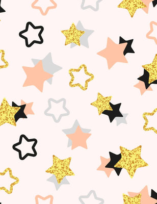 Abstract Painted Colorful Stars For Baby Holiday Photography Backdrop - Shop Backdrop