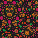 Abstract Painted Skull For Dat Of Death Photography Backdrop J-0476 - Shop Backdrop