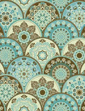Abstract Pattern Trendy Colored Abstract Floral Circles Photography Backdrop J-0331