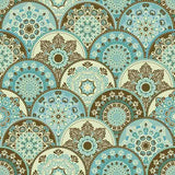 Abstract Pattern Trendy Colored Abstract Floral Circles Photography Backdrop J-0331 - Shop Backdrop