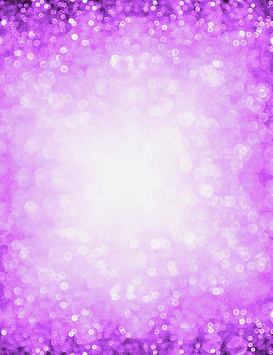 Abstract Purple Bokeh Sparkle Photography Backdrop J-0594 - Shop Backdrop