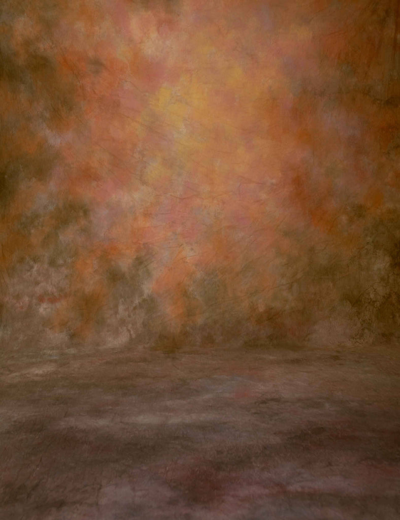 Abstract Saddle Brown And Sepia Background Old Master Backdrop - Shop Backdrop