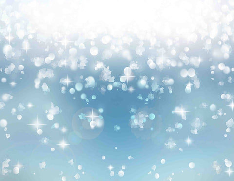Abstract Snow Bokeh Sparkles For Holiday Photo Backdrop - Shop Backdrop