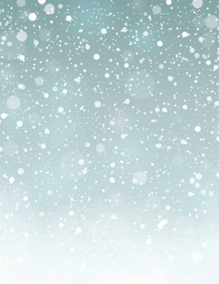 Abstract Snow Winter For Holiday Photography Backdrop - Shop Backdrop