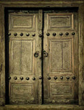 Ancient Wood  Doors Backdrop For Photography  J-0258 - Shop Backdrop