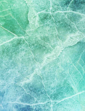 Aqua Blue Texture Marble Photography Backdrop - Shop Backdrop