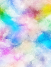 Colorful Watercolors Abstract Texture Photography Backdrop - Shop Backdrop