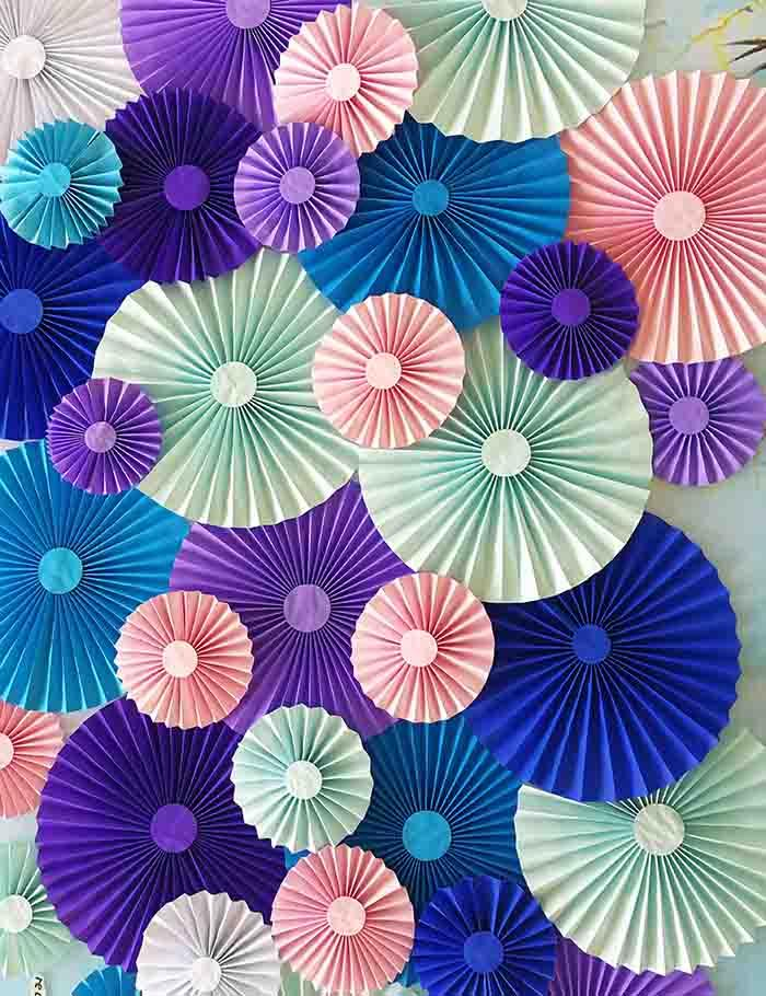 Beautiful Pinwheel Background For Children Photography Backdrop - Shop Backdrop