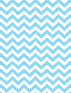 Blue And White Chevron Patterns Backdrop For Kid Photography - Shop Backdrop