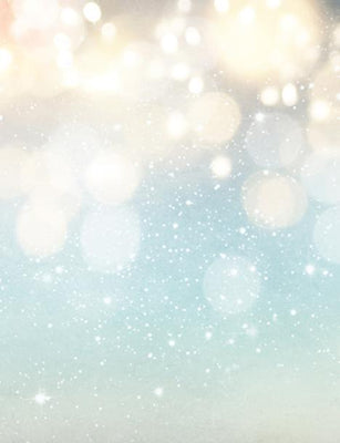 Blue Bokeh Background With Sparkle For Christmas Photography Backdrop J-0294 - Shop Backdrop